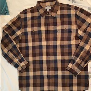 Men's Carhartt Button Up Shirt